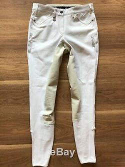 S835 Competition Breeches PIKEUR Piana size 26/28 Long / full seat / flex legs