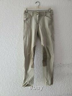 The Tailored Sportsman Breeches Tan Trophy Hunter Womens Size 26