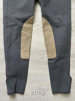 The Tailored Sportsman Trophy Hunter Regular 26 Breeches Charcoal WORN ONCE