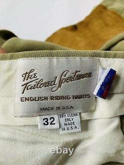 The Tailored Sportsman Womens 32 Trophy Hunter Riding Breeches Equestrian Pants