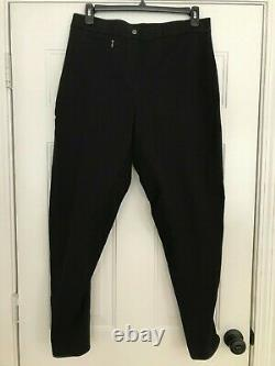 Trainer's Choice Jackie Low Rise Full-seat leather breeches size 36L