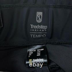 Tredstep Womens Tempo Compression Full Seat Breeches Black Stretch 28R New