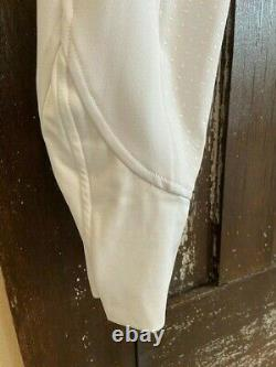 White, Full Seat Breeches, USG, 30L, Never Worn with Tag